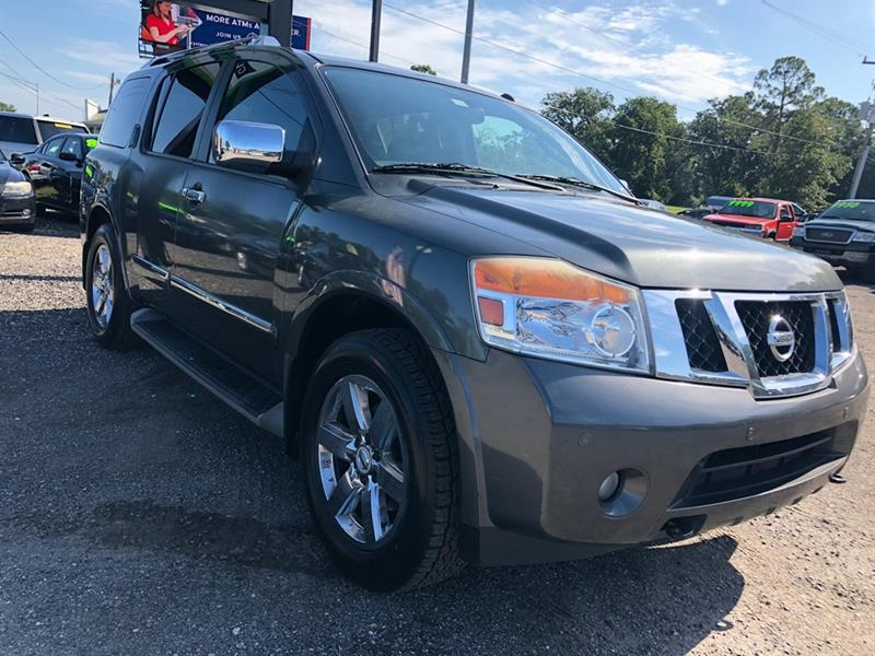 2010 Nissan Armada For Sale At Greenway Auto Sales   Gw Auto Group In  Jacksonville FL