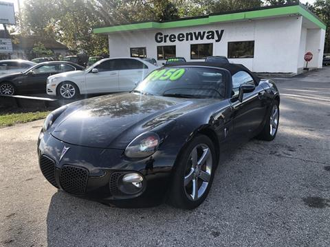 2007 Pontiac Solstice for sale in Jacksonville, FL