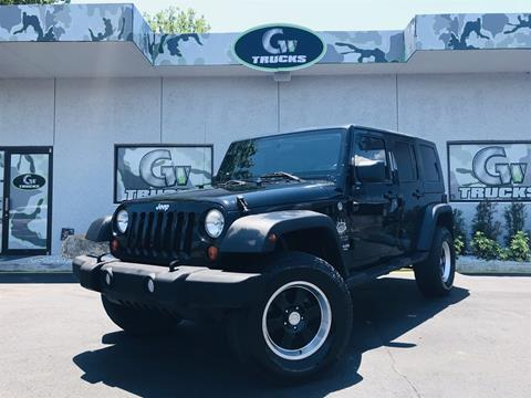 2010 Jeep Wrangler Unlimited for sale in Jacksonville, FL
