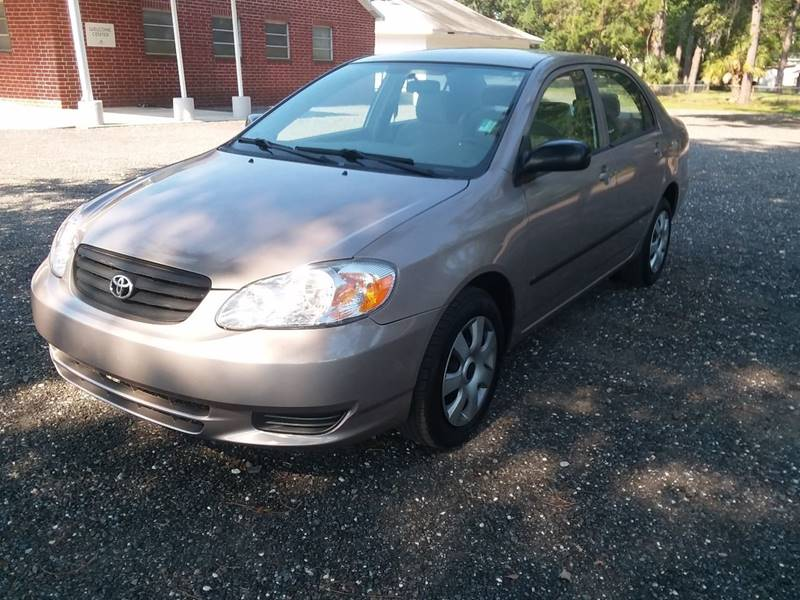 Elegant 2003 Toyota Corolla For Sale At Bakers Amazing Car Sales In Jacksonville FL