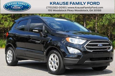 2018 Ford EcoSport for sale in Woodstock, GA