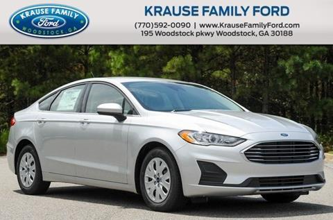 2019 Ford Fusion for sale in Woodstock, GA