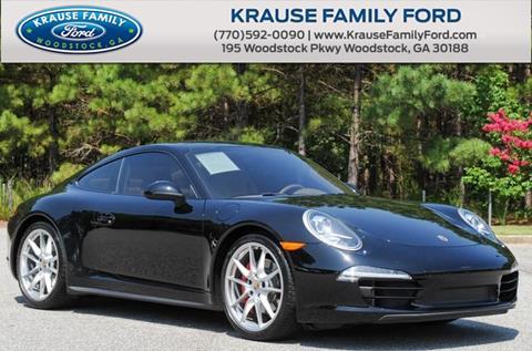 2013 Porsche 911 for sale in Woodstock, GA