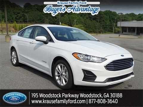 2019 Ford Fusion Hybrid for sale in Woodstock, GA