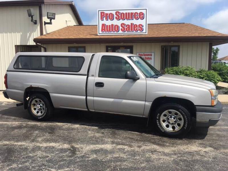 2005 chevrolet silverado 1500 work truck in otterbein in pro source auto sales. Black Bedroom Furniture Sets. Home Design Ideas