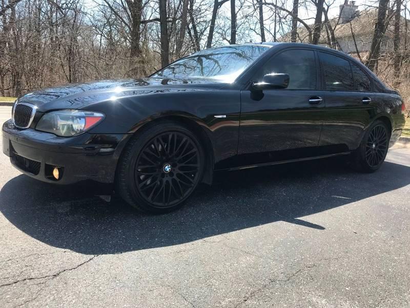 2007 BMW 7 Series 750i In Burr Ridge IL - Best Deals On Wheels Ltd