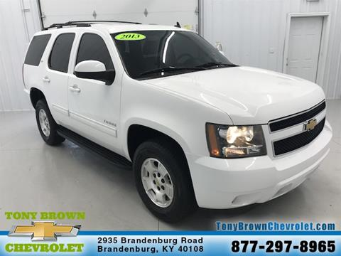 used 2013 chevrolet tahoe for sale in kentucky. Black Bedroom Furniture Sets. Home Design Ideas