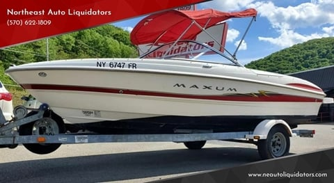 2004 Maxum 1800 SR3 for sale in Pottsville, PA