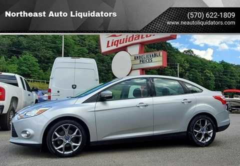 2013 Ford Focus for sale in Pottsville, PA