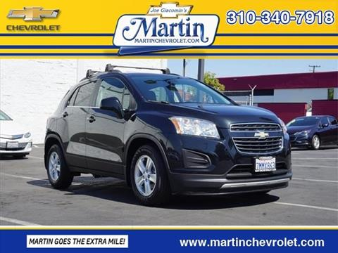 2015 Chevrolet Trax For Sale In Torrance, CA