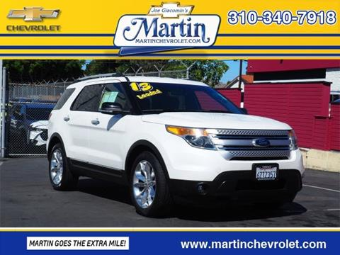 2013 Ford Explorer For Sale In Torrance, CA