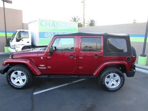 2012 Jeep Wrangler Unlimited for sale in Chandler, AZ