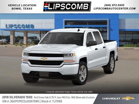 2018 Chevrolet Silverado 1500 for sale in Bowie, TX