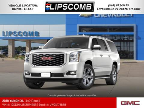 2019 GMC Yukon XL for sale in Bowie, TX