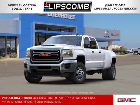 2019 GMC Sierra 3500HD for sale in Bowie, TX