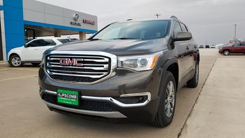 2019 GMC Acadia for sale in Bowie, TX