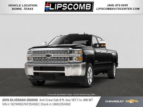 2019 Chevrolet Silverado 2500HD for sale in Bowie, TX