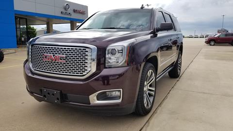 2017 GMC Yukon for sale in Bowie, TX