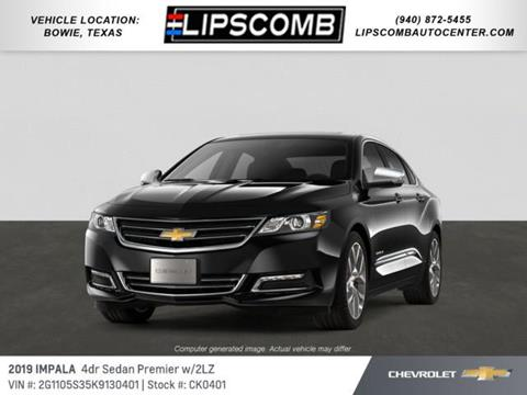 2019 Chevrolet Impala for sale in Bowie, TX