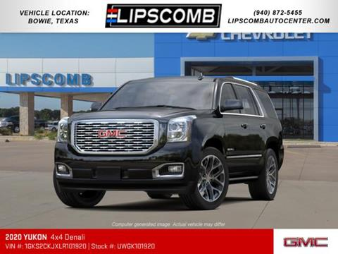 2020 GMC Yukon for sale in Bowie, TX