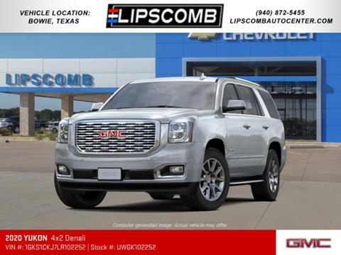 2020 GMC Yukon for sale in Bowie, TX