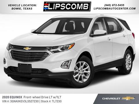 2020 Chevrolet Equinox for sale in Bowie, TX