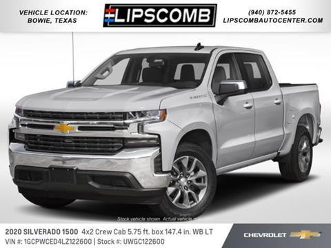 2020 Chevrolet Silverado 1500 for sale in Bowie, TX