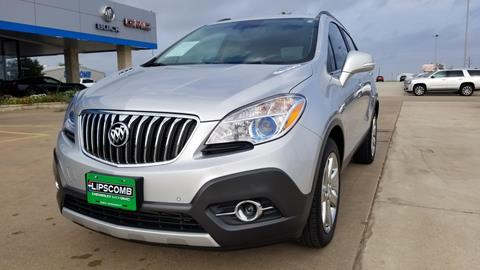 2016 Buick Encore for sale in Bowie, TX
