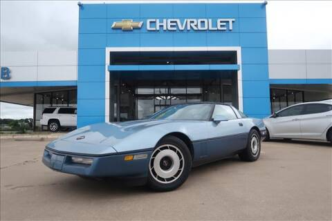 1985 Chevrolet Corvette for sale at Lipscomb Auto Center in Bowie TX