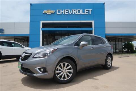 2020 Buick Envision for sale at Lipscomb Auto Center in Bowie TX