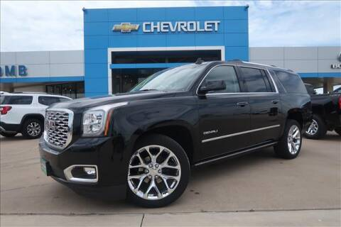 2020 GMC Yukon XL for sale at Lipscomb Auto Center in Bowie TX