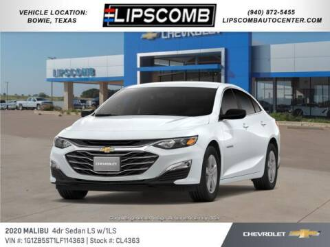 2020 Chevrolet Malibu for sale at Lipscomb Auto Center in Bowie TX