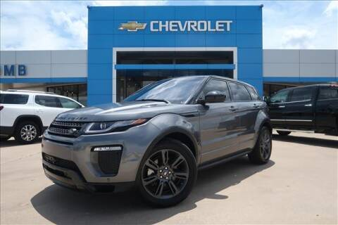 2018 Land Rover Range Rover Evoque Landmark Edition for sale at Lipscomb Auto Center in Bowie TX