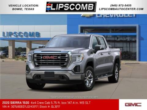 2020 GMC Sierra 1500 for sale at Lipscomb Auto Center in Bowie TX