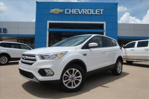 2019 Ford Escape for sale at Lipscomb Auto Center in Bowie TX