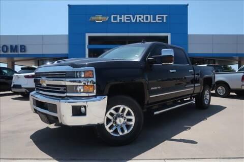 2018 Chevrolet Silverado 2500HD for sale at Lipscomb Auto Center in Bowie TX