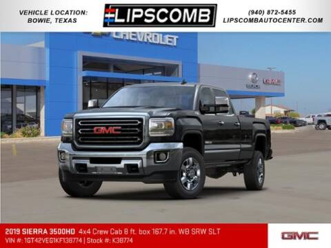 2019 GMC Sierra 3500HD for sale at Lipscomb Auto Center in Bowie TX