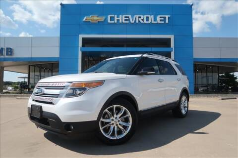 2015 Ford Explorer for sale at Lipscomb Auto Center in Bowie TX