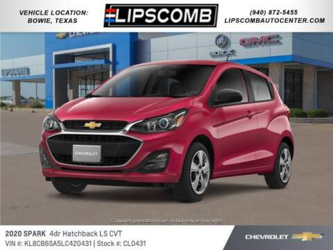 2020 Chevrolet Spark for sale at Lipscomb Auto Center in Bowie TX