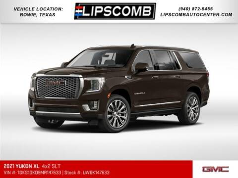 2021 GMC Yukon XL for sale at Lipscomb Auto Center in Bowie TX