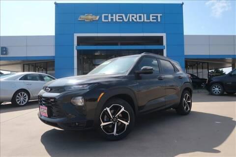 2021 Chevrolet TrailBlazer for sale at Lipscomb Auto Center in Bowie TX
