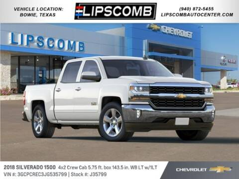 2018 Chevrolet Silverado 1500 for sale at Lipscomb Auto Center in Bowie TX