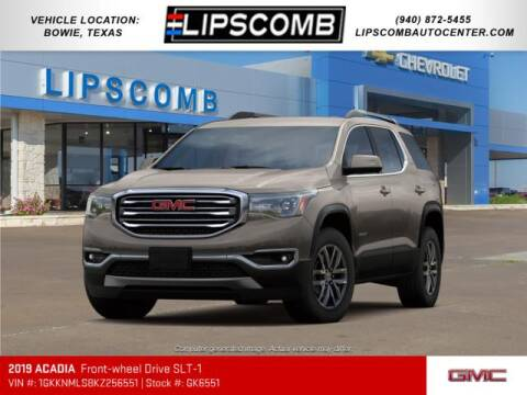 2019 GMC Acadia for sale at Lipscomb Auto Center in Bowie TX