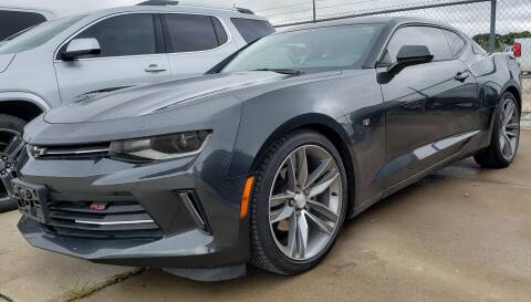 2016 Chevrolet Camaro for sale at Lipscomb Auto Center in Bowie TX