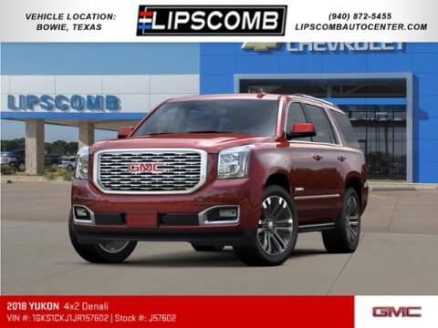 2018 GMC Yukon for sale at Lipscomb Auto Center in Bowie TX