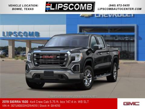 2019 GMC Sierra 1500 for sale at Lipscomb Auto Center in Bowie TX