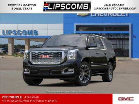 2019 GMC Yukon XL for sale at Lipscomb Auto Center in Bowie TX