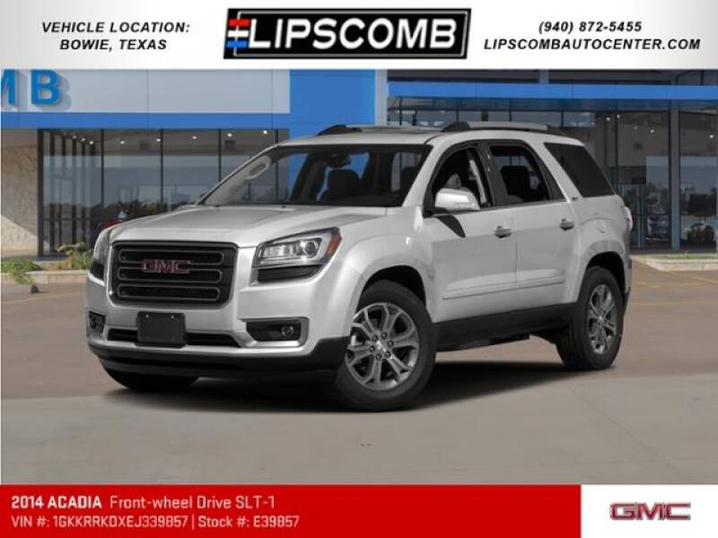 2014 GMC Acadia for sale at Lipscomb Auto Center in Bowie TX