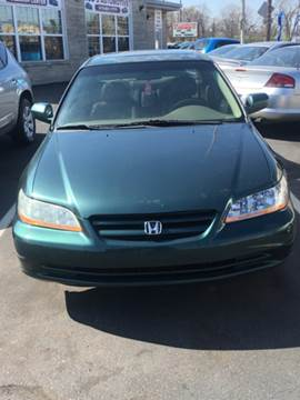 2002 Honda Accord for sale at Rod's Automotive in Cincinnati OH
