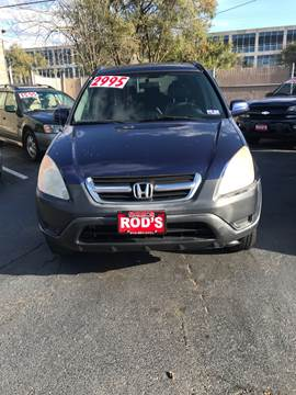 2004 Honda CR-V for sale at Rod's Automotive in Cincinnati OH